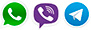 whatsup viber telegram