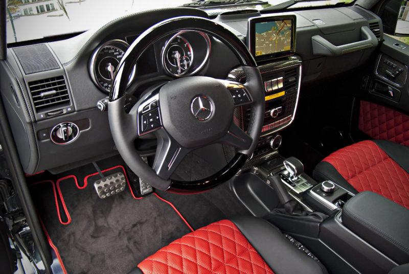 Mercedes-Benz G63 AMG черный