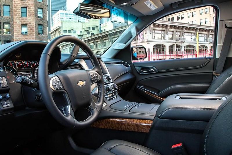 Chevrolet Tahoe черный