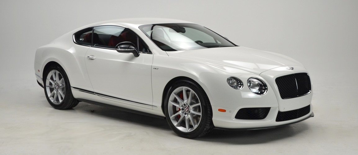 Bentley Continental GT in white