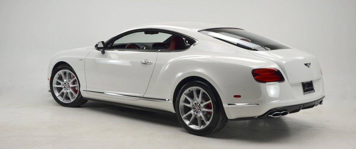 Bentley Continental GT белый
