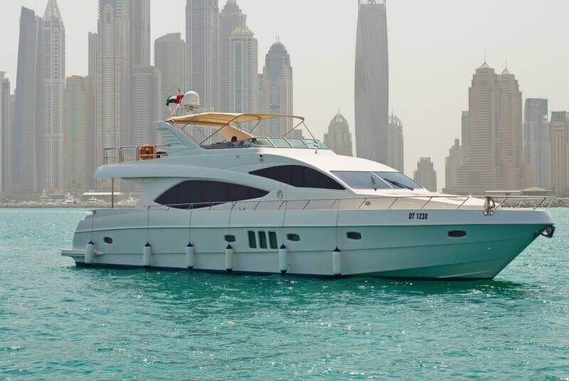 Rent Majesty 77ft Garnet in Dubai