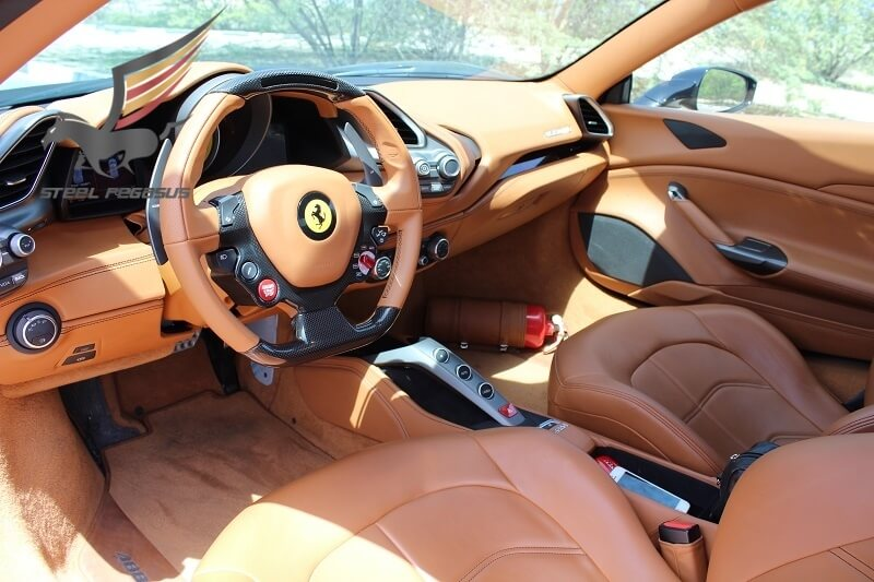 Ferrari 488 GTB черная