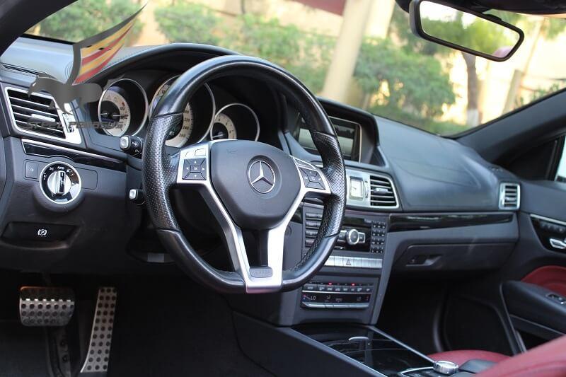 Mercedes-Benz E-class Cabriolet белый