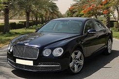 Bentley Flying Spur черный