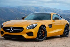 Mercedes-Benz AMG GT yellow