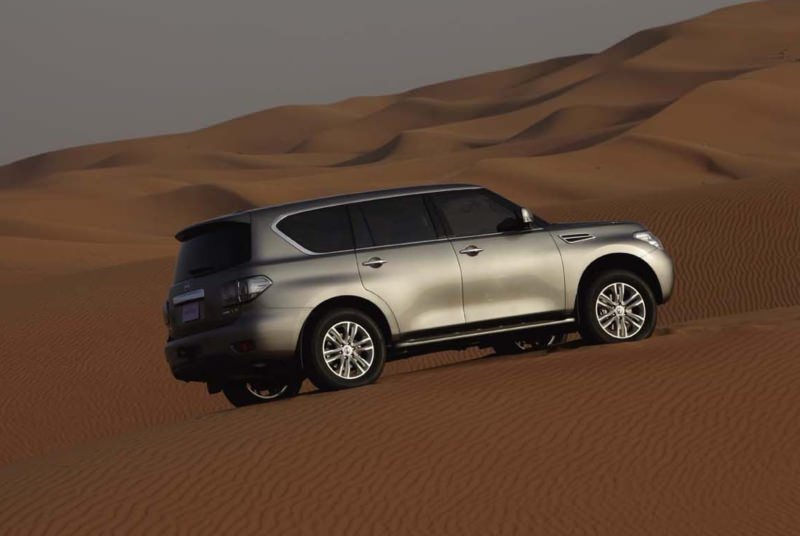 Rent NISSAN PATROL in Dubai