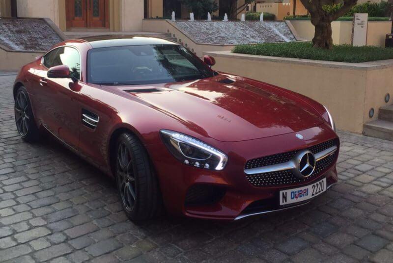 Аренда MERCEDES GTS AMG в Дубае