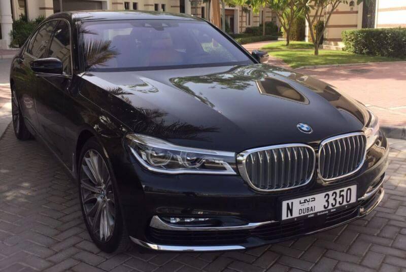 Аренда BMW 7 в Дубае