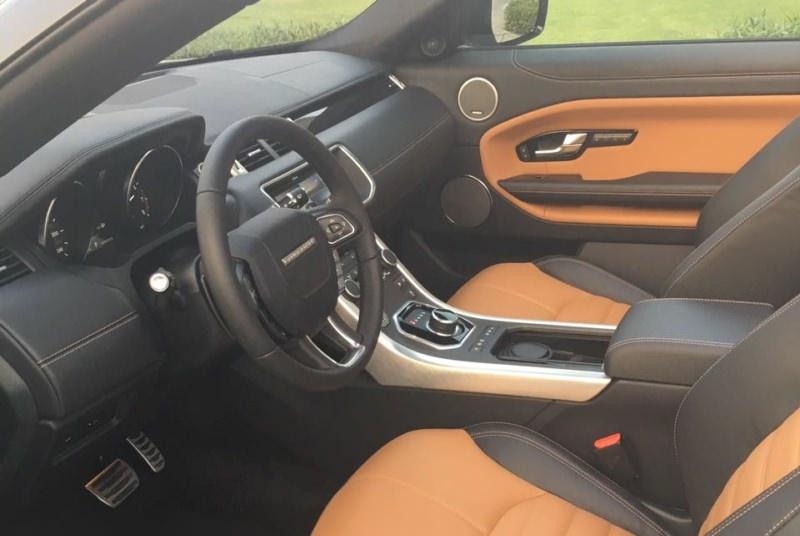 Range Rover Evogue Convertible белый