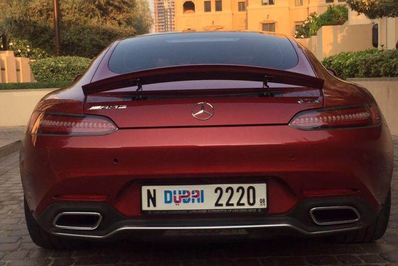 Rent MERCEDES GTS AMG in Dubai