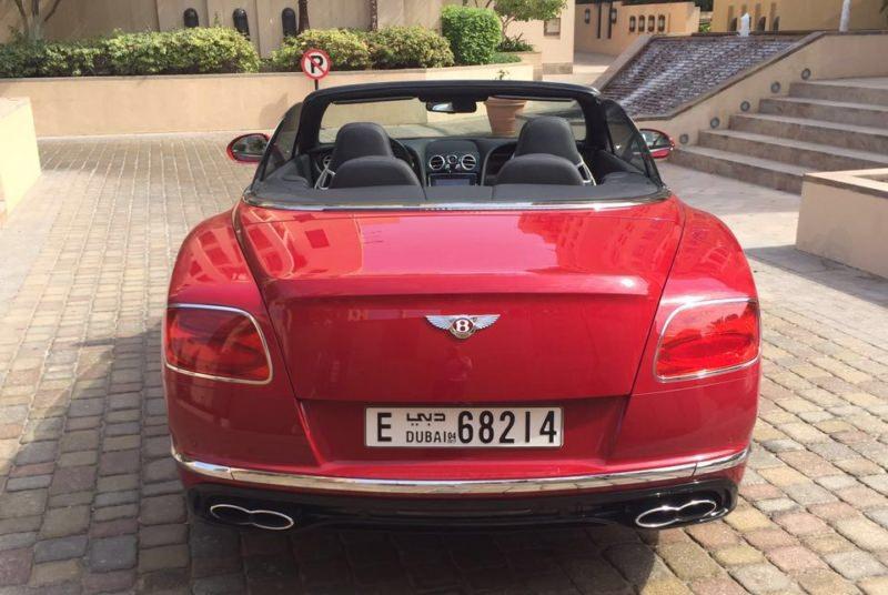RENT BENTLEY GT IN DUBAI
