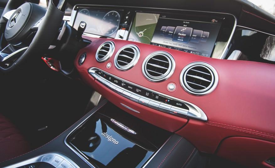 Rent MERCEDES Benz S63 (COUPE) Black in Dubai
