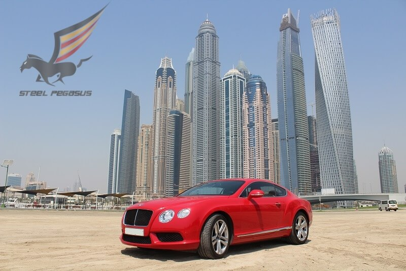 Bentley GT red