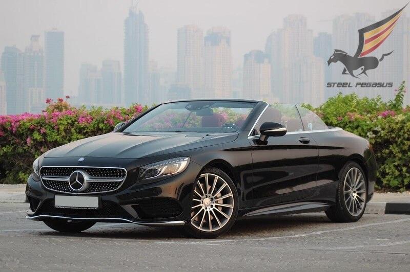 Mercedes-Benz S500 (COUPE) черный