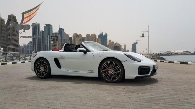 PORSCHE BOXTER GTS White