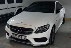 MERCEDES Benz S63 (COUPE) white
