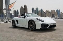 Porsche Boxter GTS белый