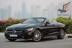 MERCEDES Benz S500 (COUPE) Black