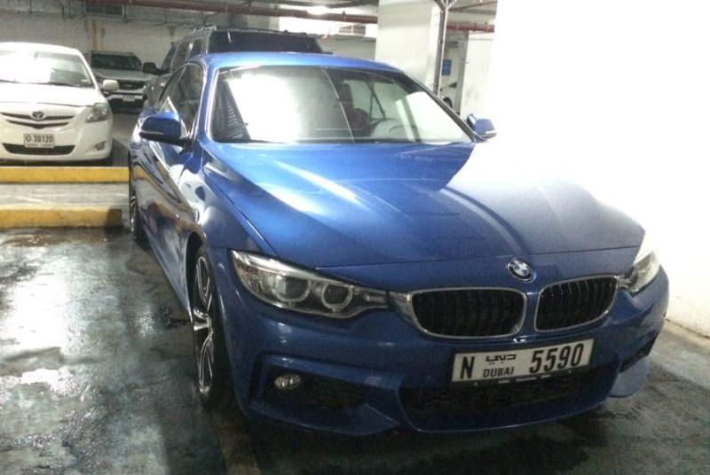 Rent BMW 428i in Dubai
