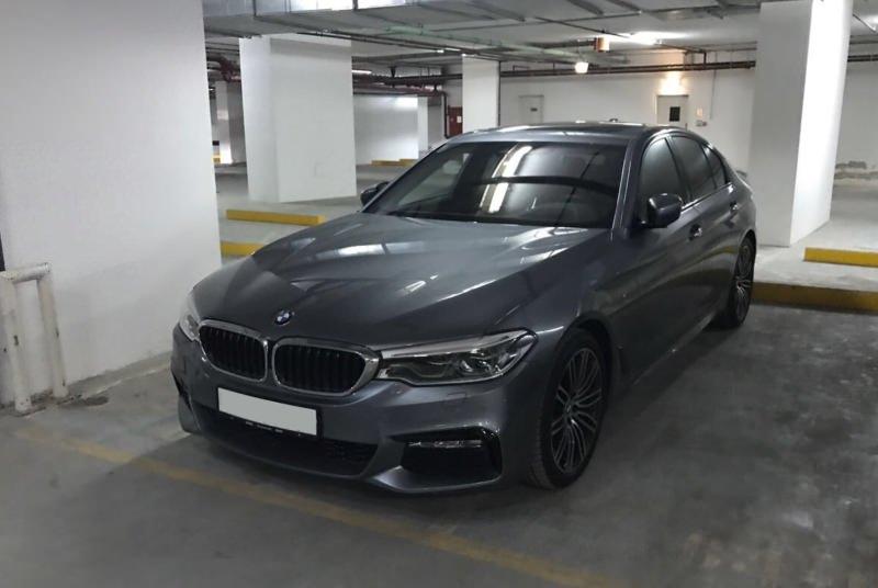 Аренда BMW 530i в Дубае