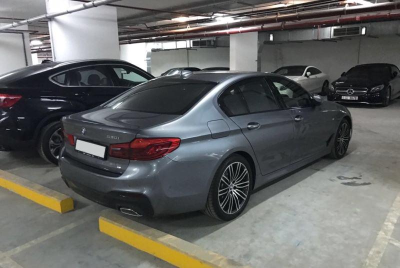BMW 530i серый