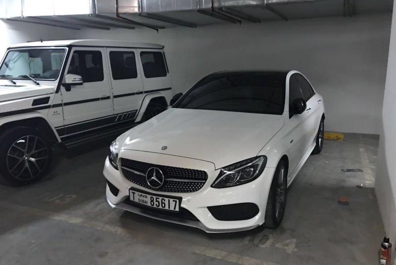 MERCEDES Benz S63 (COUPE) white
