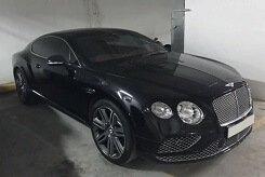 Rent Bentley GT Black in Dubai