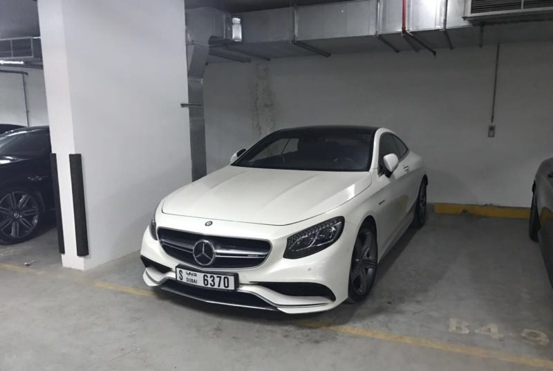 Mercedes-Benz S63 (Coupe) белый