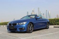 BMW 428i blue