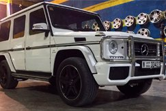 АРЕНДА MERCEDES BENZ G63 AMG White В ДУБАЕ