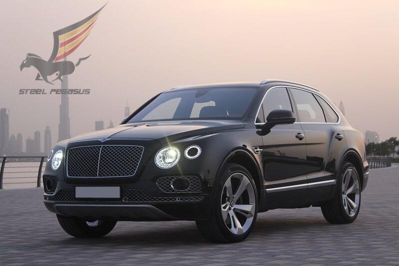 Bentley Bentayga черный