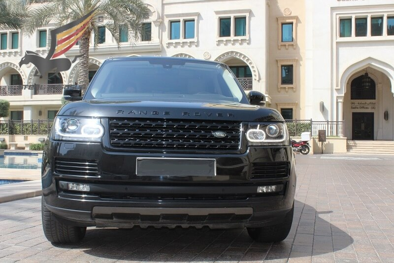 RANGE ROVER VOGUE black