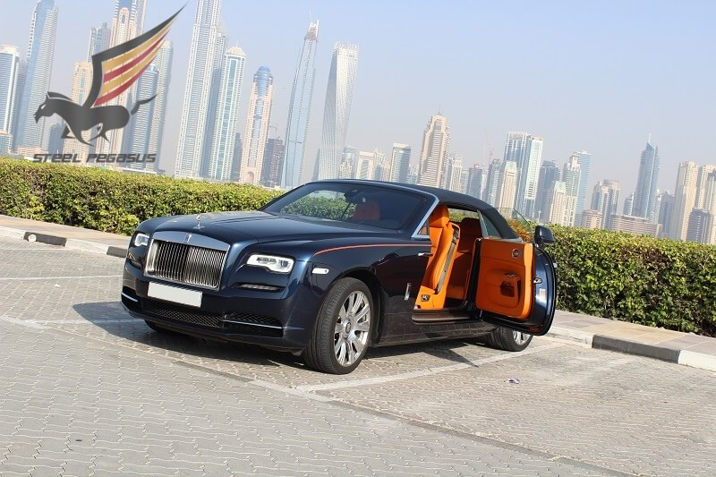 Rolls Royce Dawn blue