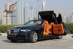 Rolls Royce Dawn blue