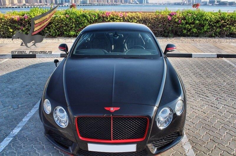 Bentley Continental GT черный
