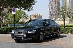 RENT AUDI A8 IN DUBAI