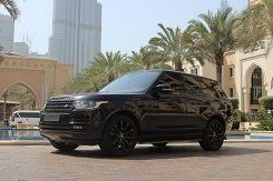 Range Rover Vogue черный