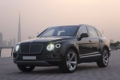Bentley Bentayga черный