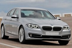BMW 5 SERIES grey