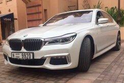 BMW 7 white