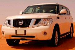 Nissan Patrol белый