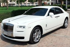 Аренда Rolls Royce Ghost в Дубае
