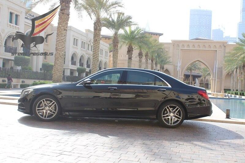 Mercedes-Benz S-класса черный