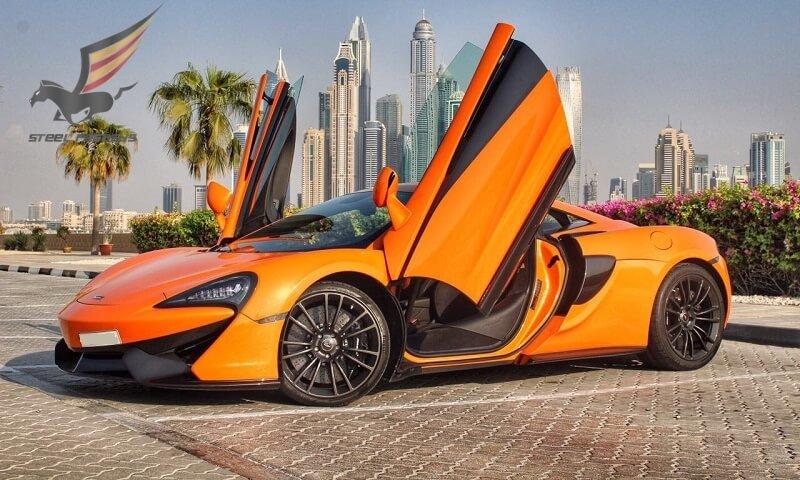 Аренда McLaren в Дубае