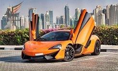 Rent McLaren в Дубае