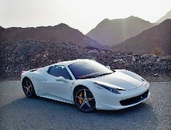 Ferrari 458 Spider red