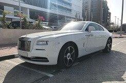 Rolls-Royce Wraith Белый