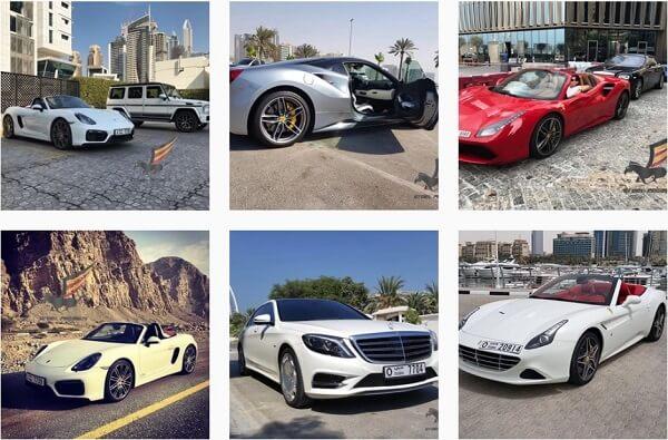 аренда авто в Дубай