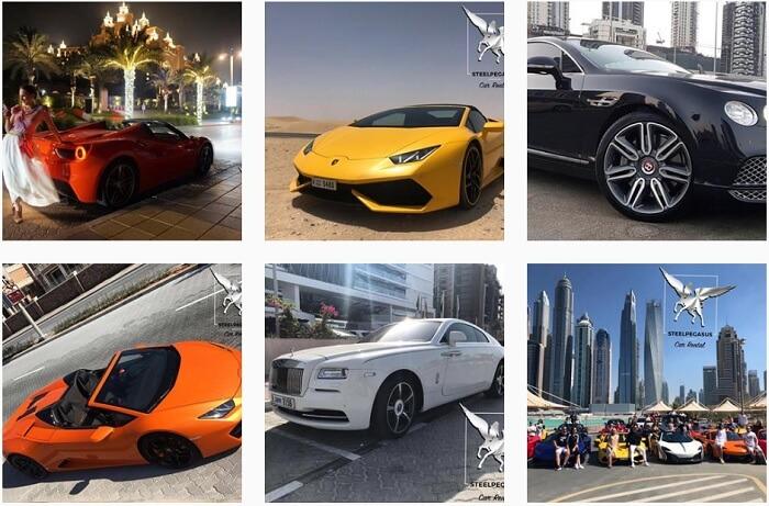 Аренда авто в Дубай стоимость и цены